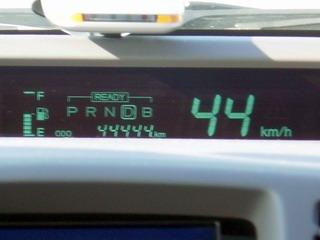 44444km&44km/h