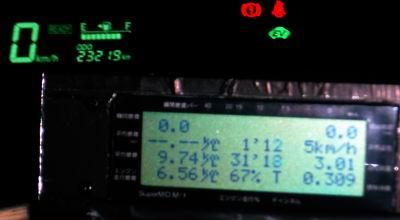 点検時の燃費
