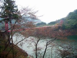 月ヶ瀬の橋