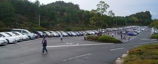 駐車場のプリプリ