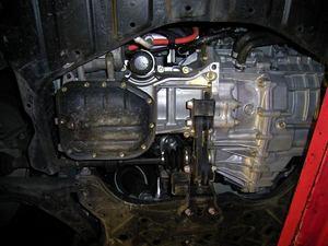 おまけ:プリウスのエンジン下部