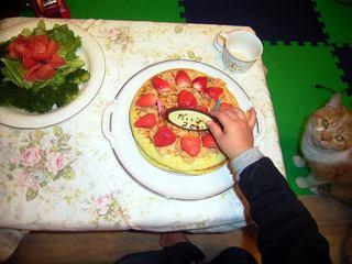 バースデーホットケーキ
